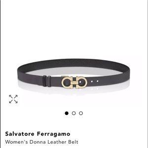 Black and Gold salvatore women belt